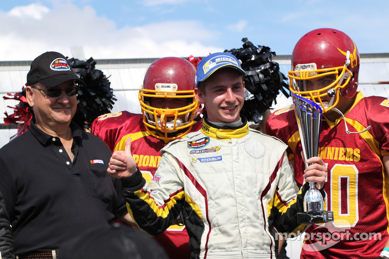 Race winner Denis Dupont