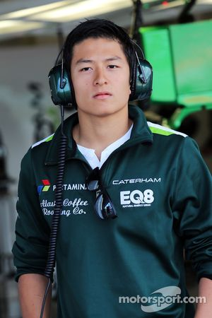 Rio Haryanto, tester del team Caterham F1