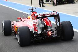 Pedro de la Rosa, Ferrari F14-T