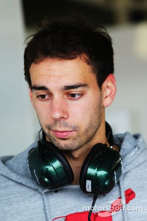 Nathanael Berthon, Caterham F1 Team, pilota collaudatore