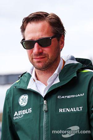 Christian Albers, Caterham F1 Team, Team Manager