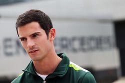 Alexander Rossi, Caterham F1 terzo pilota