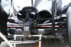 Mercedes AMG F1 W05 rear diffuser detail