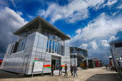 Sahara Force India F1 Takımı motorhome'u