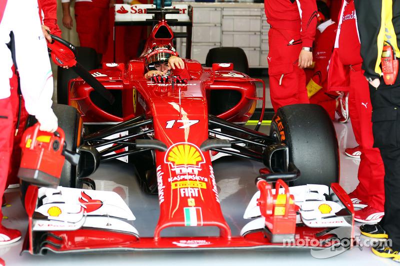Jules Bianchi, Ferrari F14-T pilota collaudatore