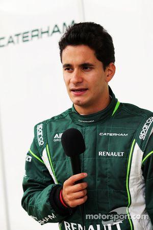 朱利安·里尔,卡特汉姆F2车队测试车手和媒体