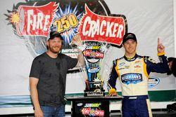 Kasey Kahne en Dale Earnhardt Jr.