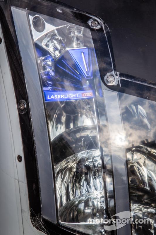 Sistema de faróis Laserlight no Audi Sport Team Joest Audi R18 e-tron Quattro