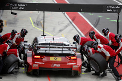 Pitstop de Miguel Molina, Audi Sport Team Abt Audi RS 5 DTM