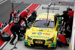 Pitstop de Mike Rockenfeller, Audi Sport Team Phoenix Audi RS 5 DTM