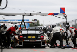Pitstop de Pascal Wehrlein, Mercedes AMG DTM-Team HWA Mercedes DTM AMG C-Coupe