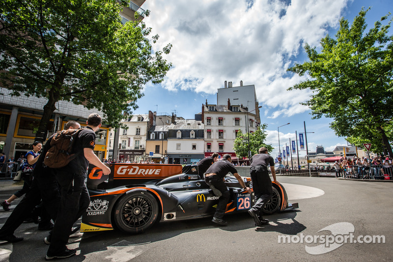 #26 G-Drive Racing 摩根 - 日产