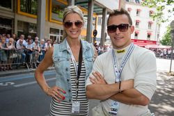 Christian Klien con su novia