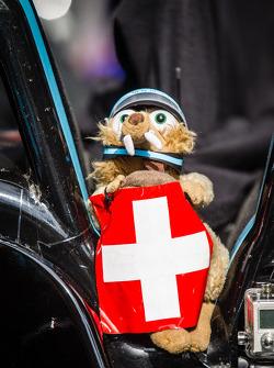 Mascot for #43 Newblood By Morand Racing Morgan - Judd