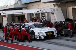 Pitstop de Nico Müller, Audi Sport Team Rosberg Audi RS 5 DTM