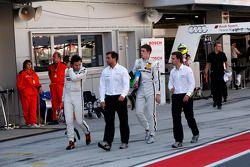 Robert Wickens, Mercedes AMG DTM-Team HWA DTM Mercedes AMG C-Coupe et Paul Di Rest, Mercedes AMG DTM