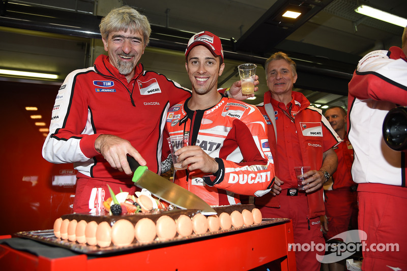 Gigi Dalligna Ducati Corse General Manager Celebrates His Birthday