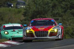 #45 Flying Lizard Motorsports Audi R8 LMS: Nelson Canache, Spencer Pumpelly, Dion von Moltke