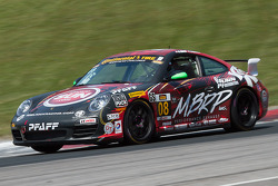 #08 Rebel Rock/MBPR Racing Porsche 997: Martin Barkey, Kyle Marcelli