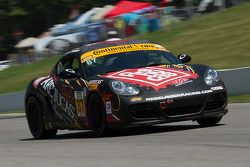 #87 Rebel Rock Racing Porsche Cayman: Jason Montgomery, Steve Tarpley