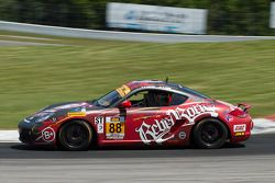 #88 Rebel Rock Racing Porsche Cayman: Corey Lewis, Gary Brown
