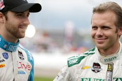 James Hinchcliffe, Andretti Autosport Honda and Ed Carpenter, Ed Carpenter Racing Chevrolet