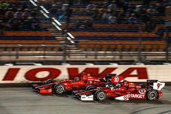Scott Dixon, Target Chip Ganassi Racing Chevrolet and Tony Kanaan, Target Chip Ganassi Racing Chevro