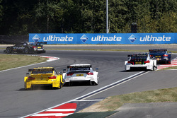 Timo Glock, BMW Team MTEK BMW M3 DTM e Nico Müller, Audi Sport Team Rosberg Audi RS 5 DTM