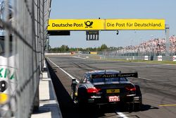 Timo Scheider, Audi Sport Team Phoenix Audi RS 5 DTM stopped on Track