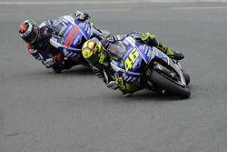 Valentino Rossi et Jorge Lorenzo
