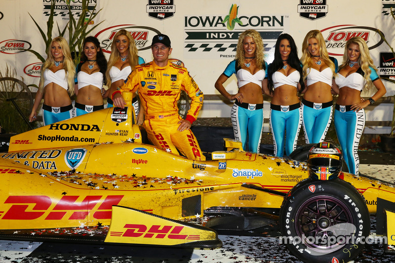 Vainqueur: Ryan Hunter-Reay, Andretti Autosport Honda