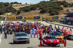 Race 1 startopstelling