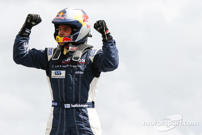 Winnaar Toomas Heikkinen