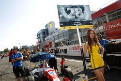 Gridgirl of Jake Dennis