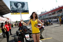 Gridgirl of Esteban Ocon