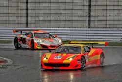 #37 BBT Ferrari 458 Italia GT3: Anthony Liu, Davide Rizzo