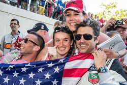 The usual craziness surounding Patrick Dempsey