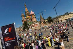 Moskau City-Racing am Kreml
