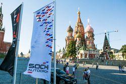 Moscow City Racing al Cremlino
