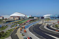 Baufortschritt in Sochi