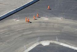 Les travaux continuent sur l'Autodrome de Sotchi