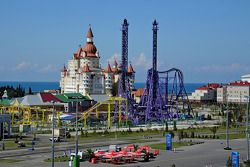 A view of the Sochi area