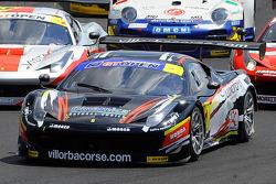 #1 Scuderia Villorba Corse Ferrari 458 Italia: Andrea Montermini, Niccolò Schiro