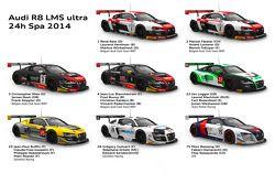 奥迪R8 LMS ultra armada