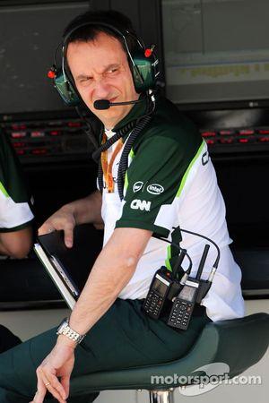 Gianluca Pisanello, Responsabile ingegneri di pista Caterham F1 Team
