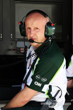 Miodrag Kotur, Caterham F1 Team, Team Manager