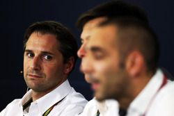 Christian Albers, Caterham F1 Team, Team Principal, alla conferenza stampa FIA