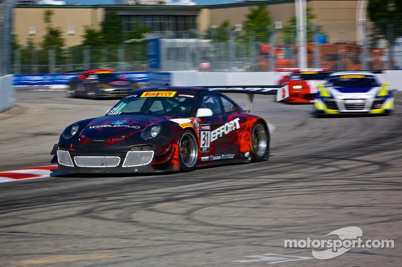#31 EFFORT Racing 保时捷 GT3 R: 蒂姆·伯格麦斯特