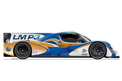 Artista redesenha carros da classe LM P3