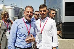 Jos Verstappen avec son fils Max Verstappen